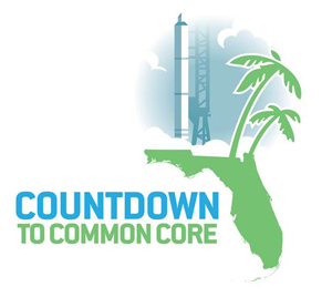 florida countdown common core launch logo