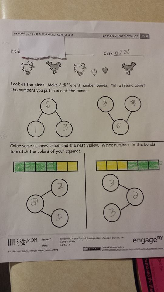 New York Parents Launch Common Core Math Homework At Governor