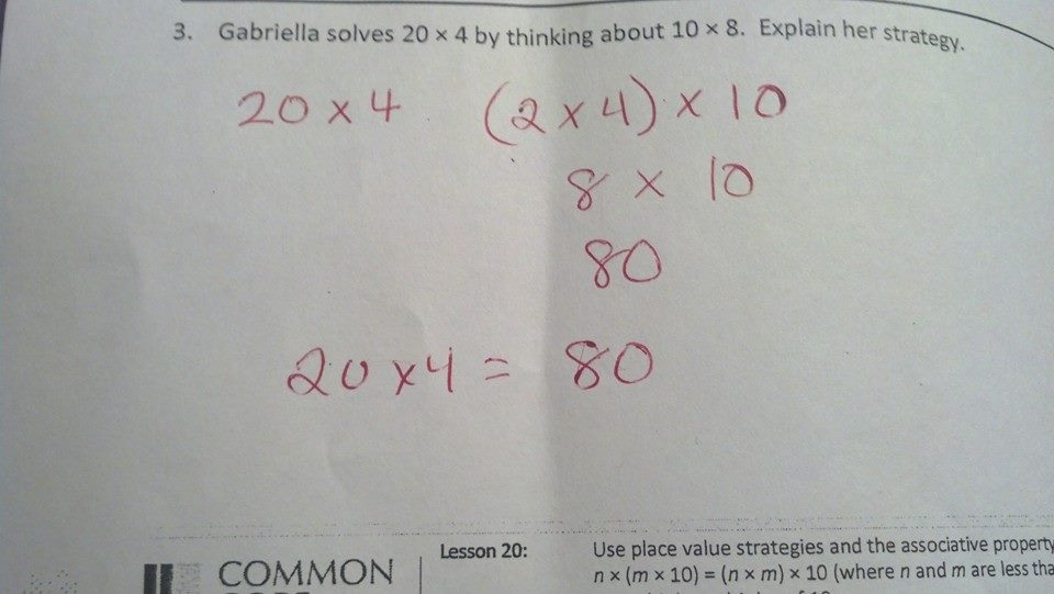 Common Core Math – Common Core Standards Math Worksheets