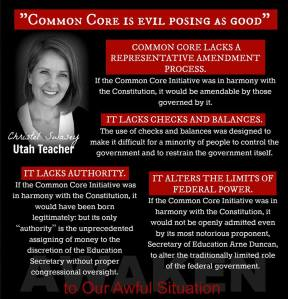 Meme Unconstitutional Common Core Christel Swasey
