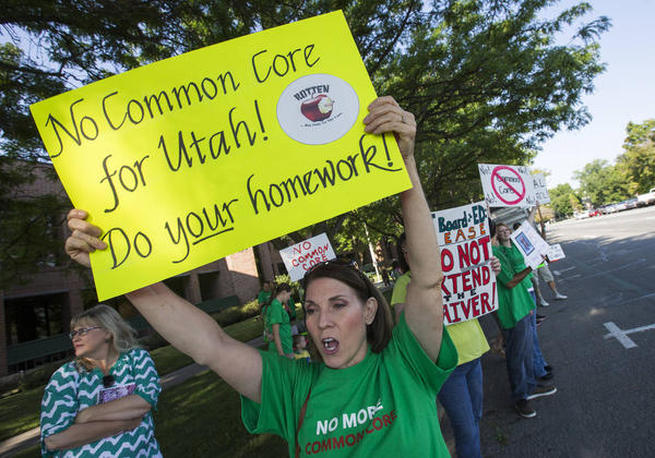 common core protest five