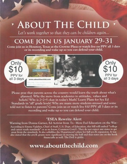 flier about the child