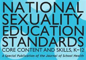 The national sexuality education standards